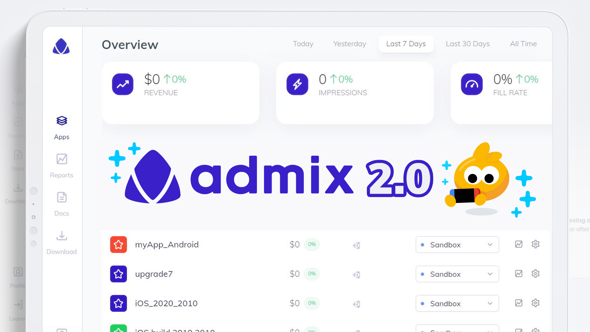 Admix 2.0 is here!
