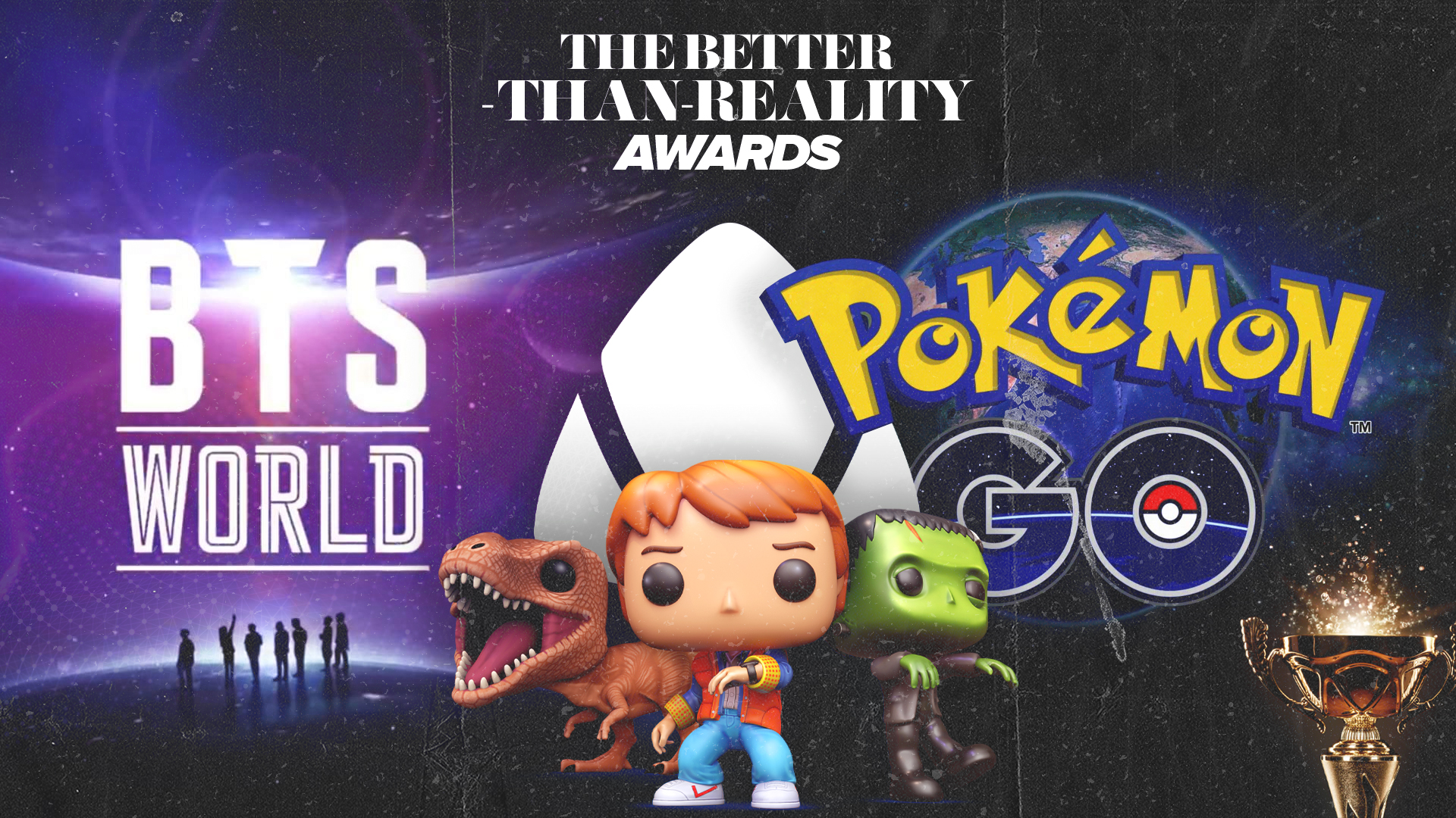 Gaming News – VRFocus Awards, Funko Pop, BTS, and Pokemon Go!